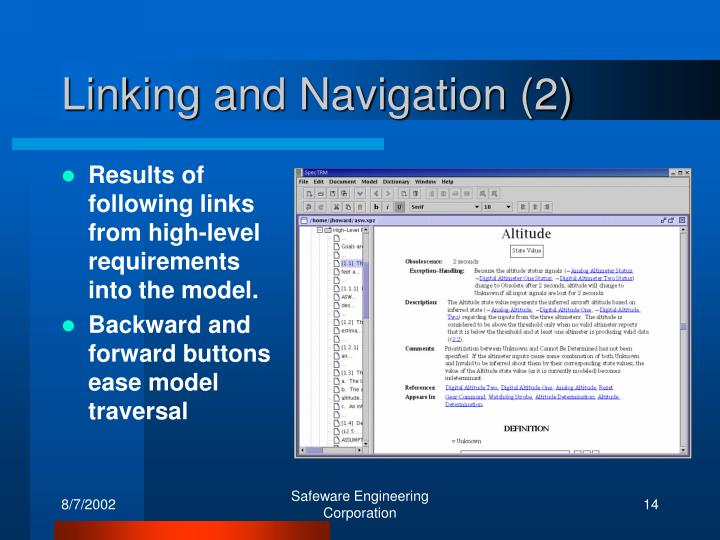 Linking and Navigation (2)