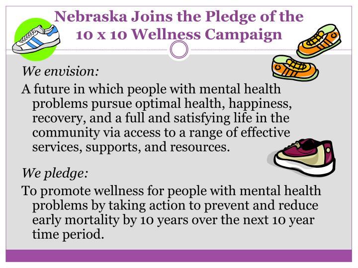 Nebraska Joins the Pledge of the