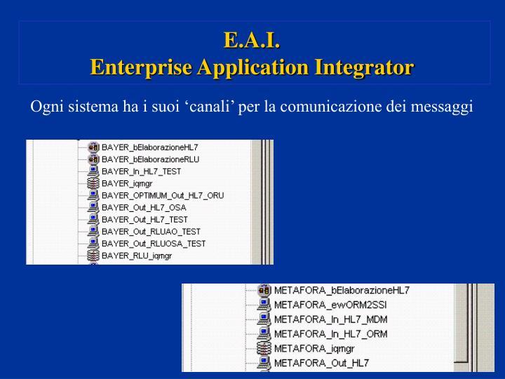 E.A.I.