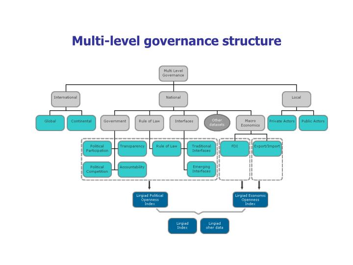 Multi level governance structure