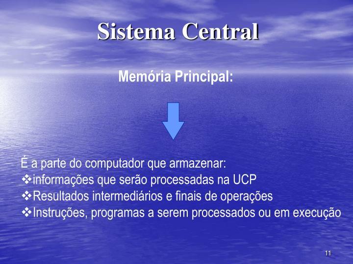 Sistema Central