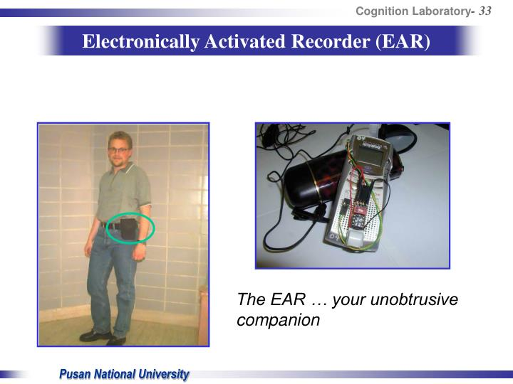 Electronically Activated Recorder (EAR)