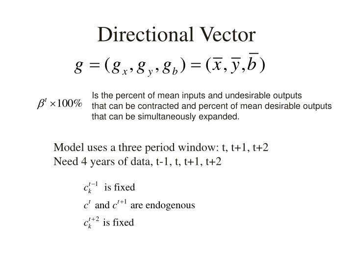 Directional Vector