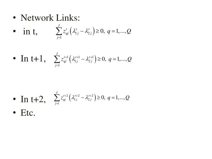 Network Links