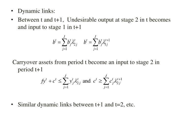 Dynamic links: