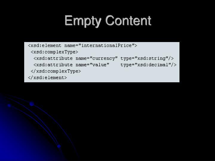 Empty Content
