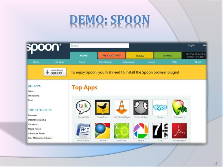 DEMO: SPOON