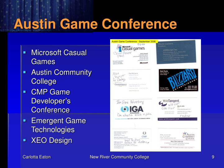 Austin Game Conference