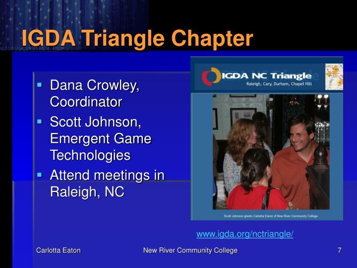 IGDA Triangle Chapter