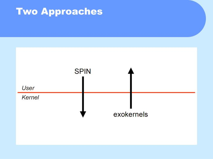 Two Approaches