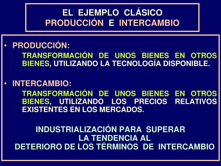 EL  EJEMPLO  CLÁSICO