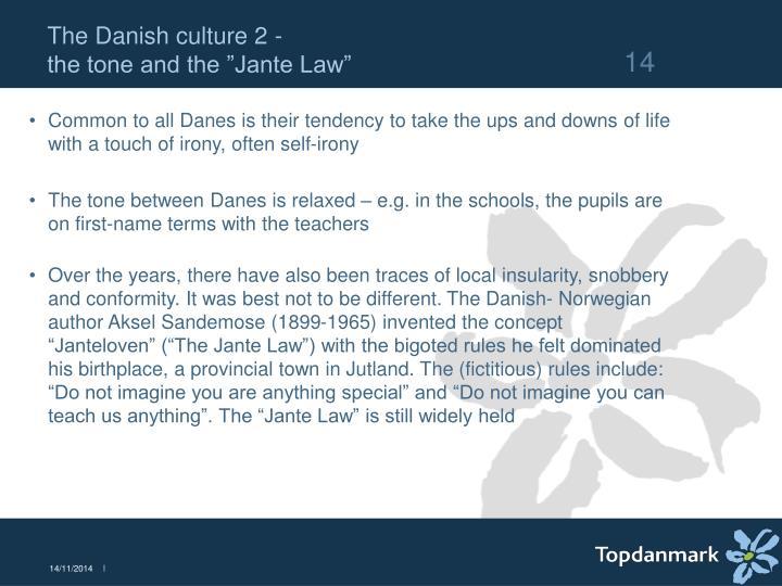 The Danish culture 2 -