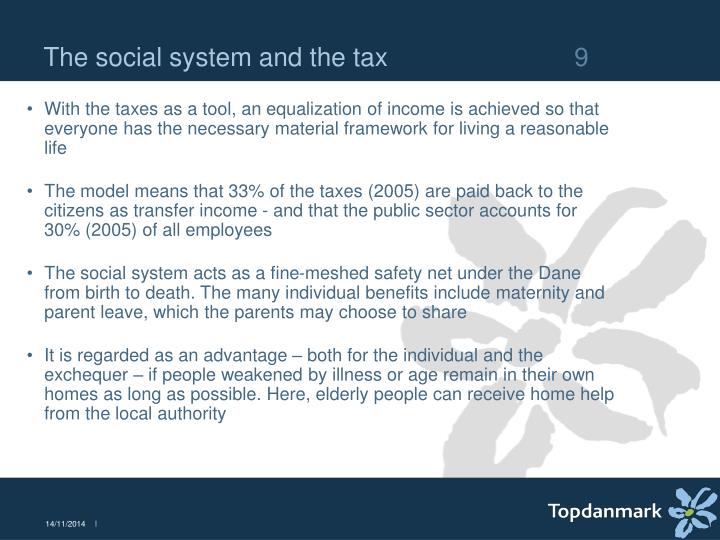 The social system and the tax