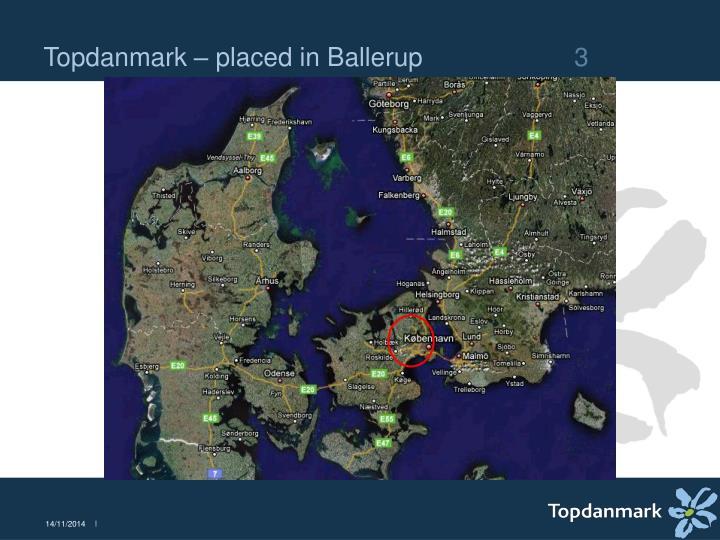 Topdanmark placed in ballerup