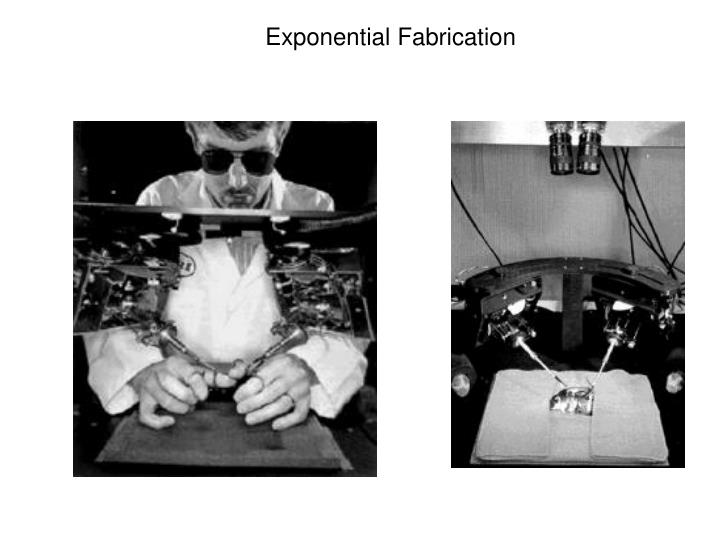 Exponential Fabrication