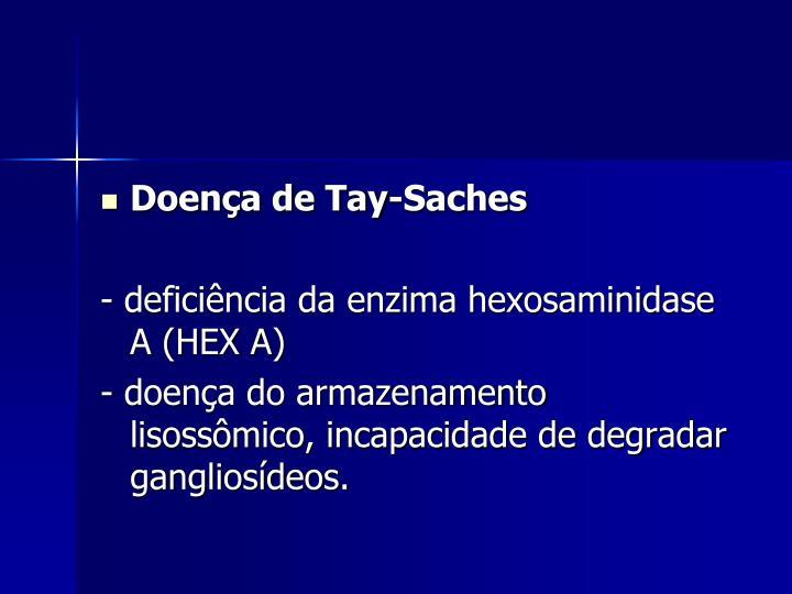 Doença de Tay-Saches