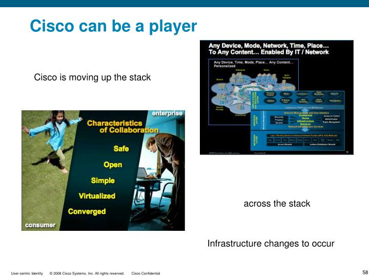 Cisco can be a player