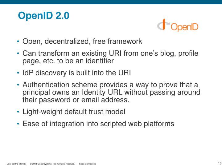OpenID 2.0