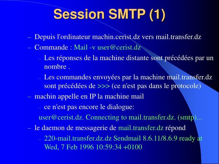 Session SMTP (1)