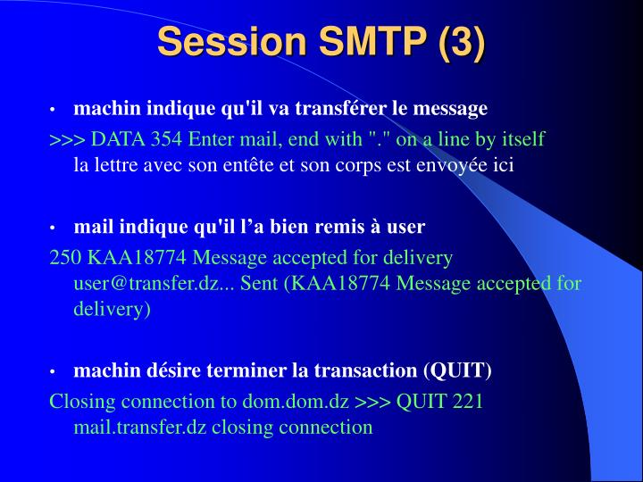 Session SMTP (3)
