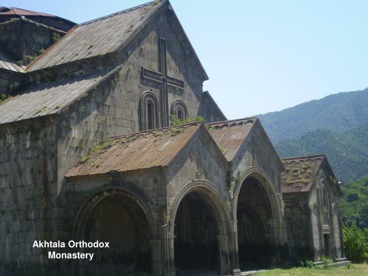 Akhtala Orthodox Monastery