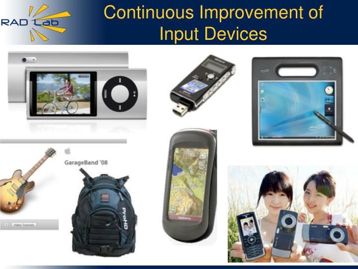 Continuous Improvement of