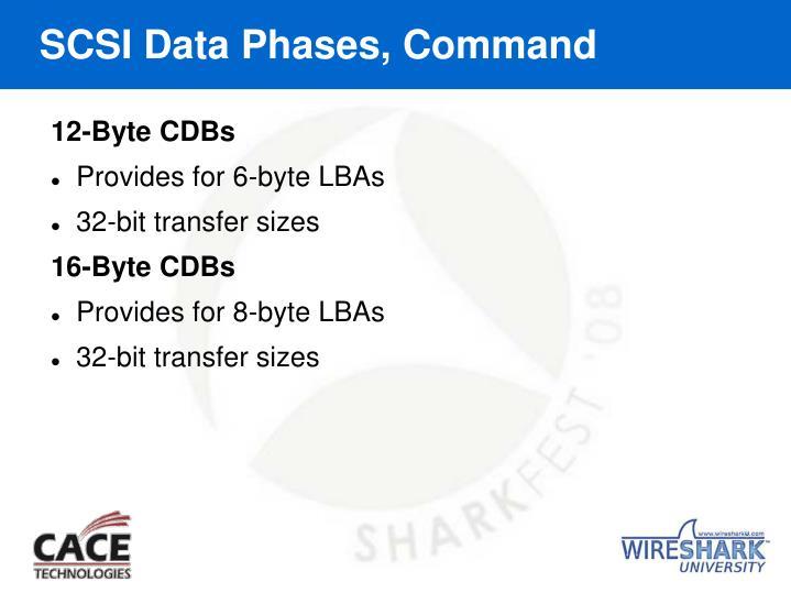 SCSI Data Phases, Command