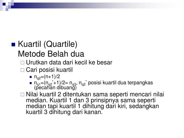 Kuartil (Quartile)