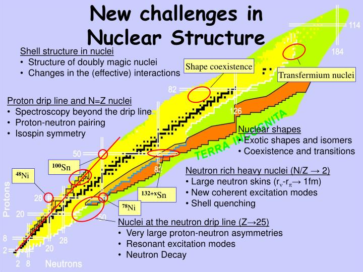 New challenges in nuclear structure