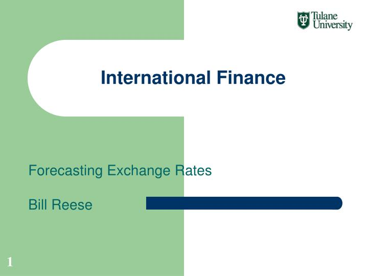 forecasting exchange rates It won't forecast the rates themselves but can be used with other models to provide insight into the trend when evaluating these methods for yourself, it's important to keep in mind that foreign exchange markets can be very volatile.