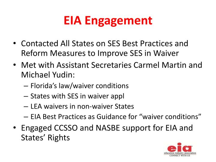 EIA Engagement
