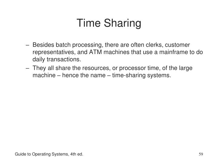 Time Sharing