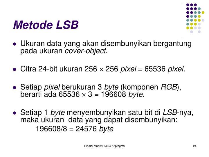 Metode LSB