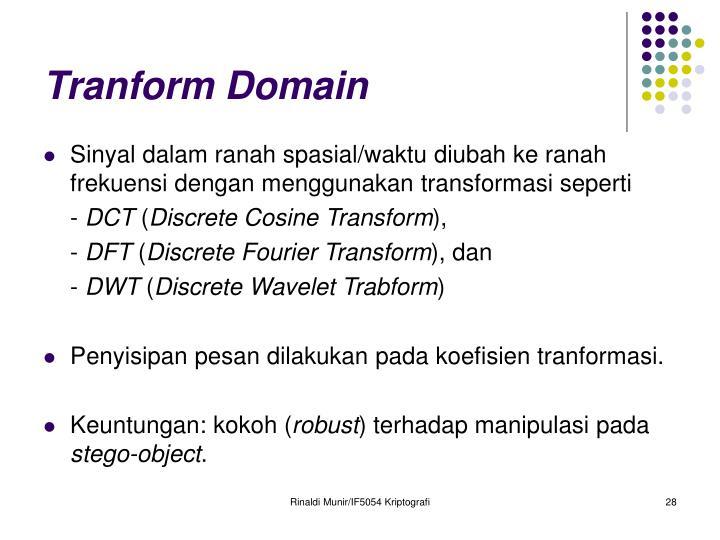 Tranform Domain
