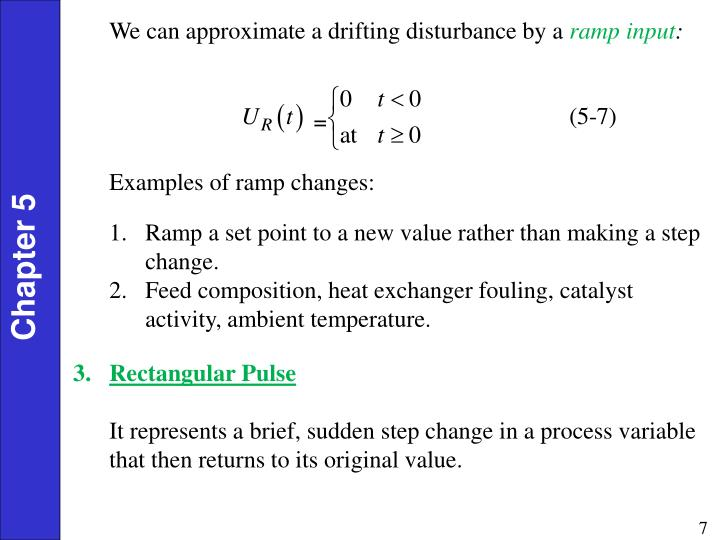 We can approximate a drifting disturbance by a
