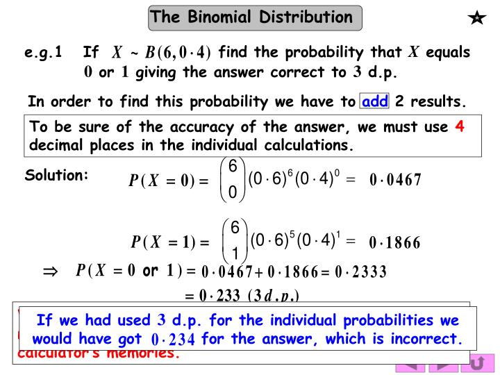 e.g.1   If                  find the probability that
