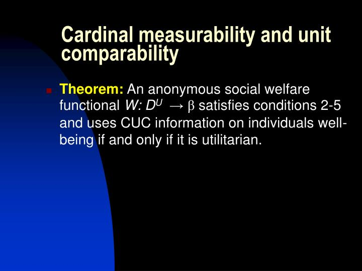 Cardinal measurability and unit comparability