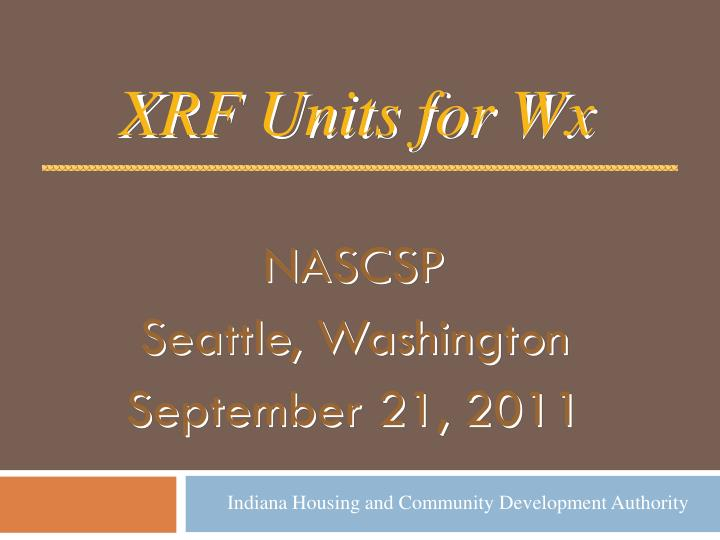 nascsp seattle washington september 21 2011