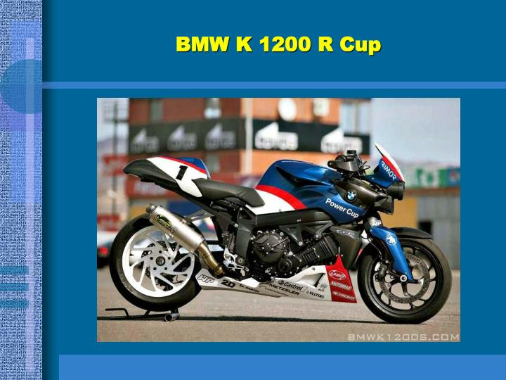 BMW K 1200 R Cup