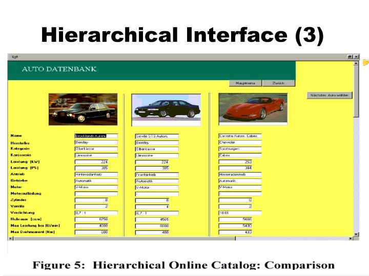 Hierarchical Interface (3)