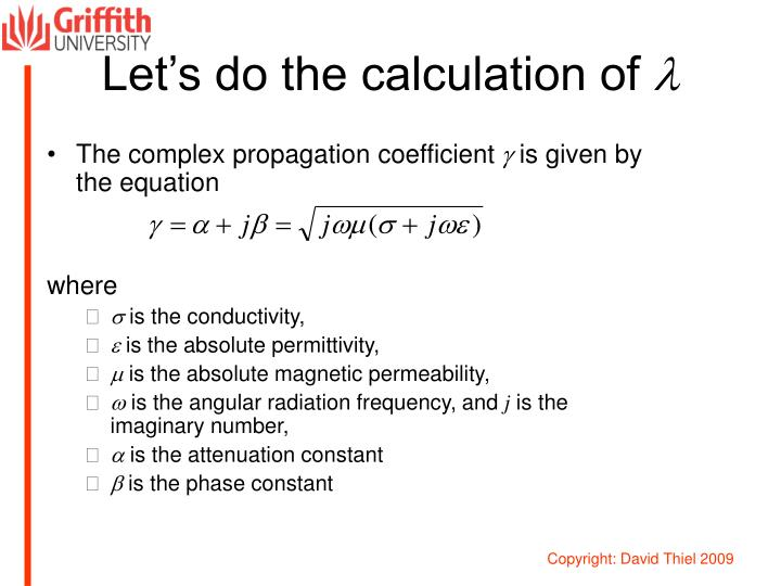 Let's do the calculation of