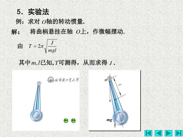 例:求对    轴的转动惯量