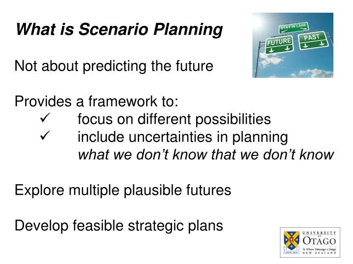 What is Scenario Planning