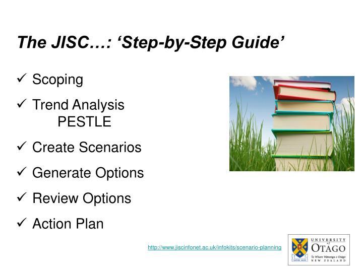 The JISC…: 'Step-by-Step