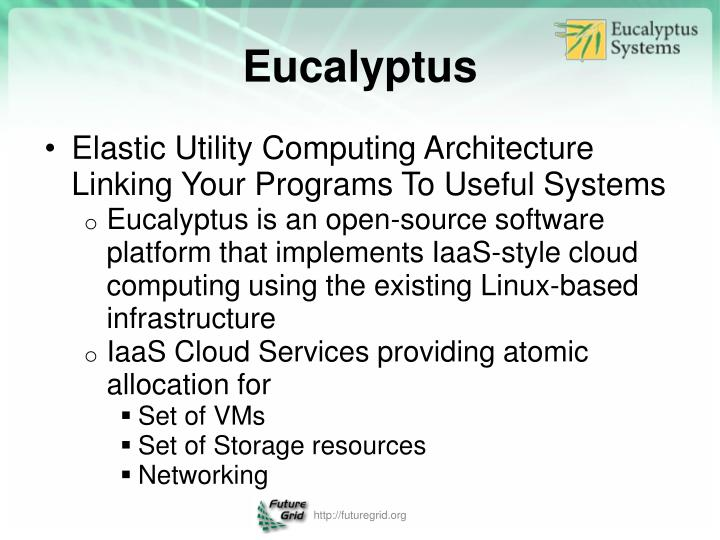 Elastic Utility Computing Architecture Linking Your Programs To Useful Systems