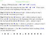 designing tm example 4