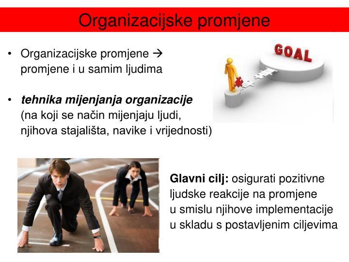 Organizacijske promjene