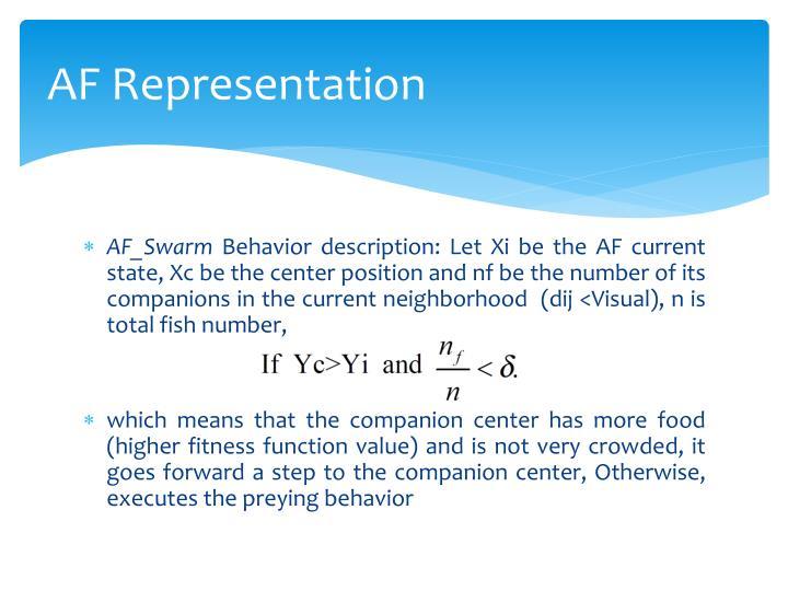 AF Representation