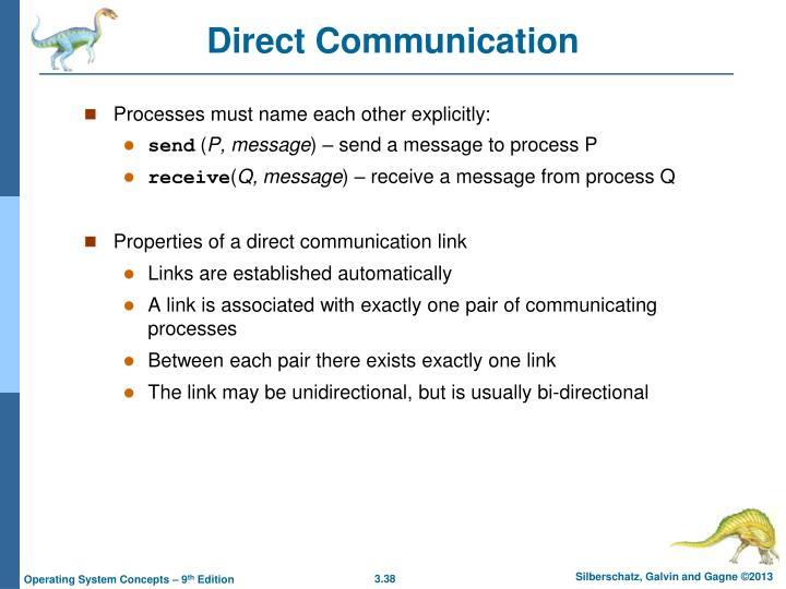 Direct Communication