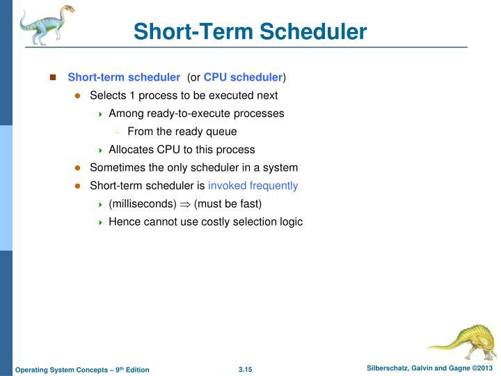 Short-Term Scheduler